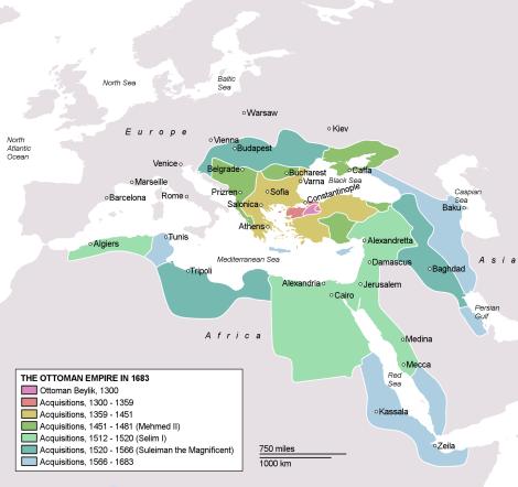 Imperio-Otomano-en-su-maxima-expansion