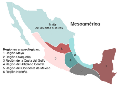 Áreas culturales de Mesoamérica